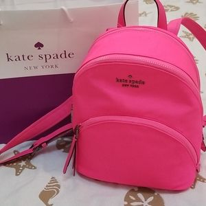 ♠️NWT Kate Spade Backpack Karissa Nylon Neon Pink